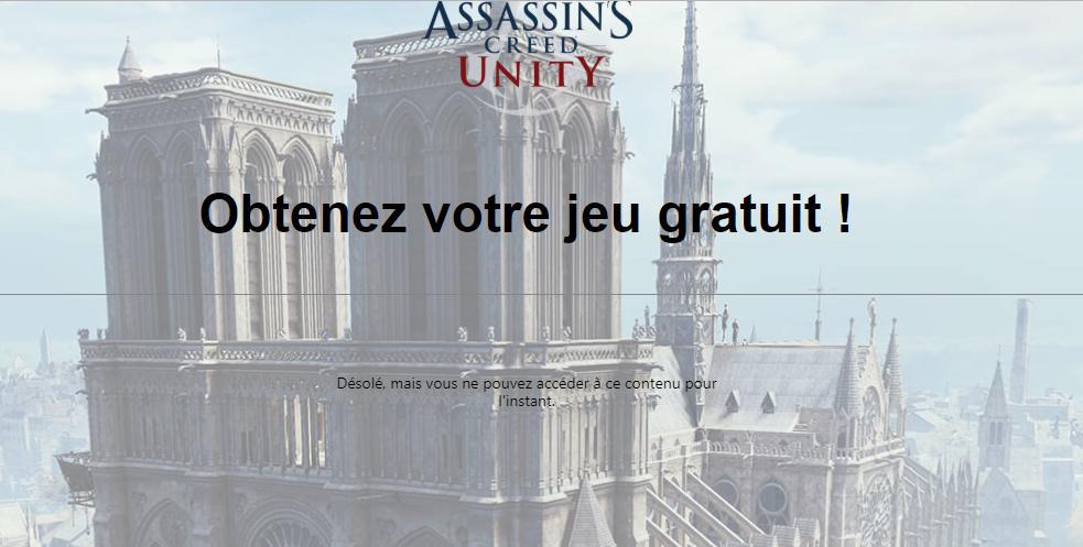 EXCLUSIF : Assassin's Creed Unity (GRATUIT !) Captur12