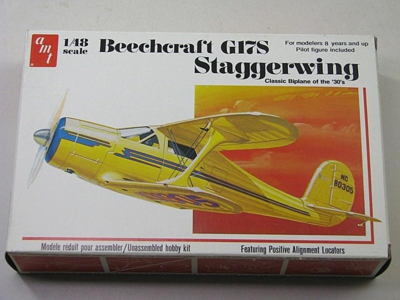 [AMT] Beechcraft-G17S Staggerwing 1/48  Beechc11