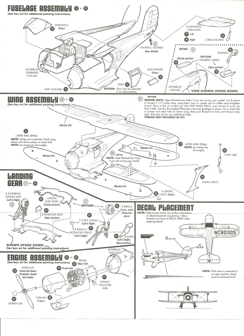 [AMT] Beechcraft-G17S Staggerwing 1/48  Beechc13