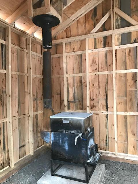 Nouvelle cabane pour la saison 2019 Cabane13