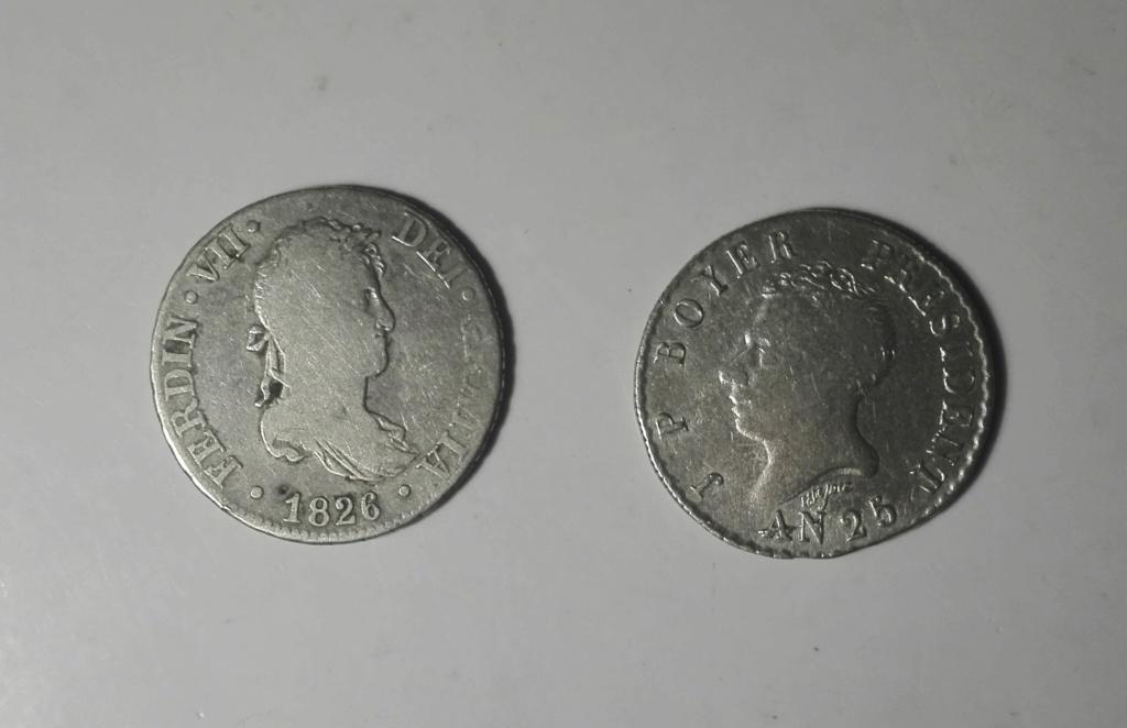 Haití. 50 centimes. 1828. President J. P. Boyer. An 25. Img_2016
