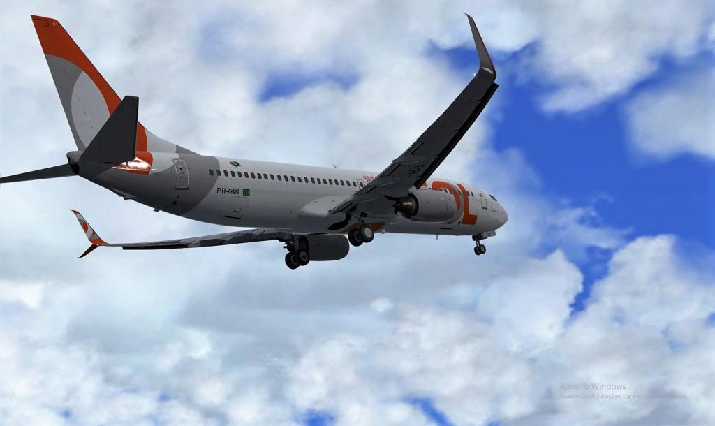 737-800 GOL 737-8018