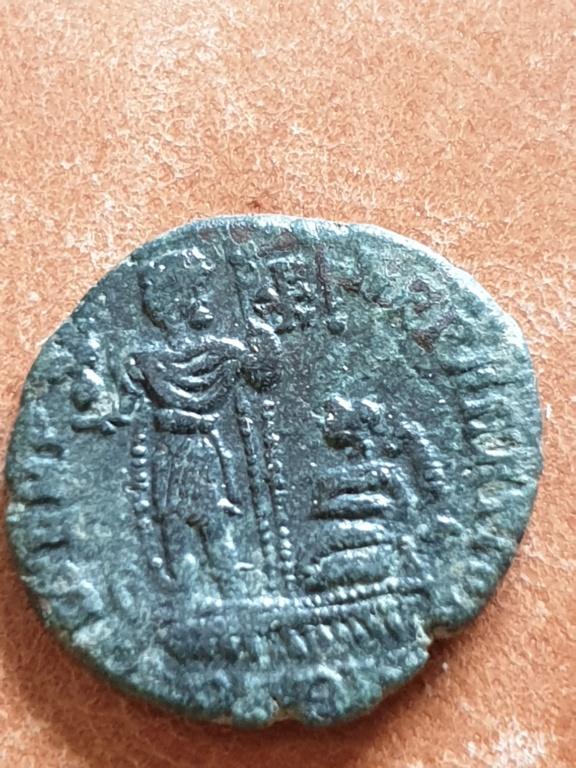 AE3 de Constancio II. FEL TEMP REPARATIO. Roma 20200320