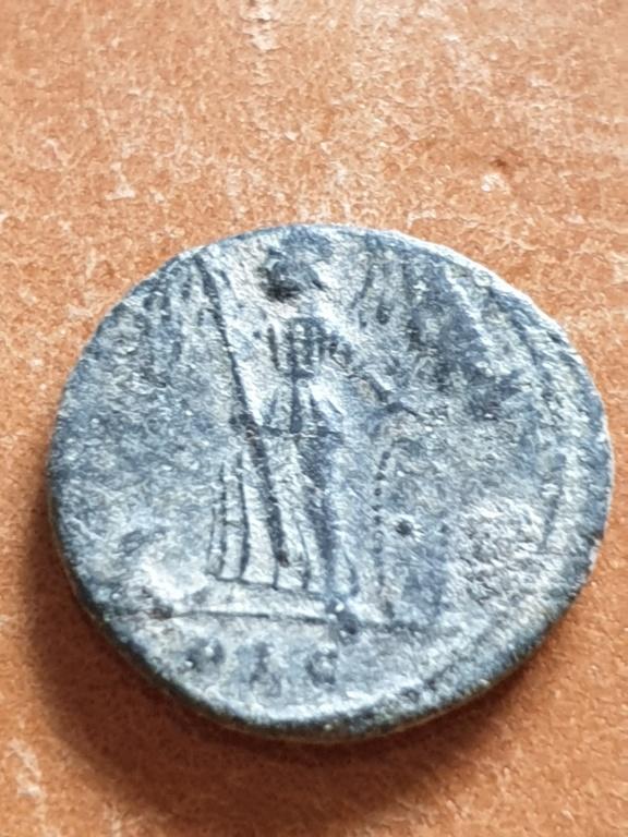 AE4 conmemorativo de la Ciudad de Constantinopla. Lyon 20200330