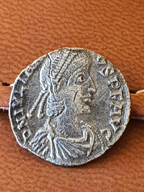 Silicua de Juliano II (el Apóstata). VOTIS V MVLTIS X. Arlés 20200531