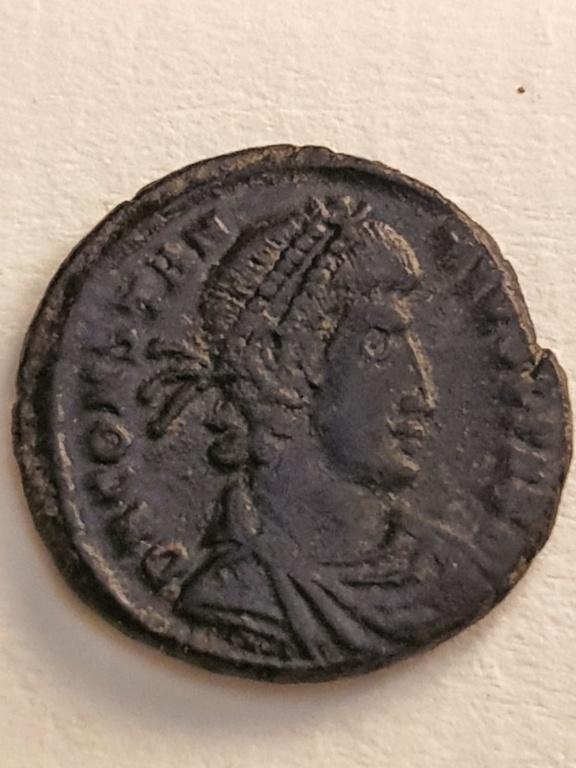 AE3 de Constancio II. FEL TEMP REPARATIO. ''matao''. Lyon 20200733