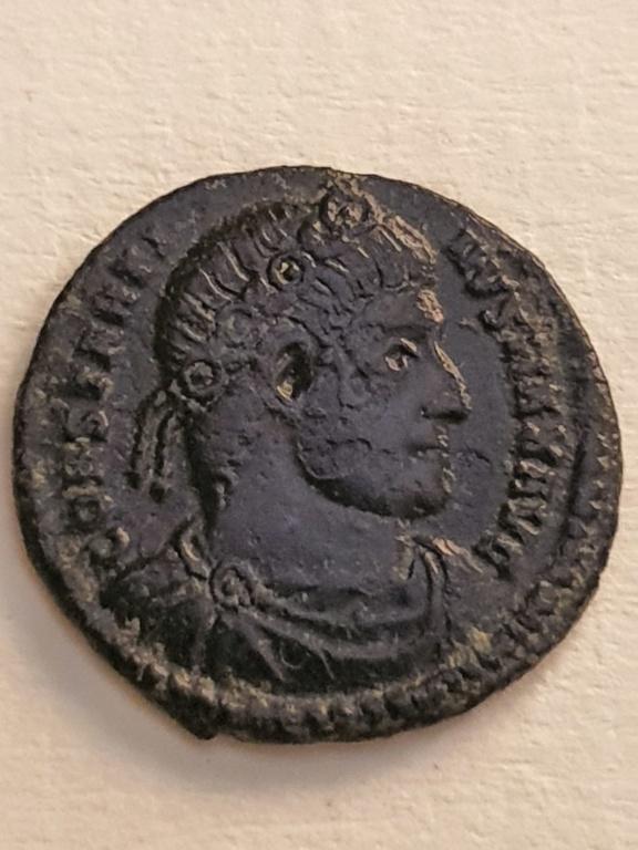 AE3 de Constantino I. GLORIA EXERCITVS. Roma 20200735