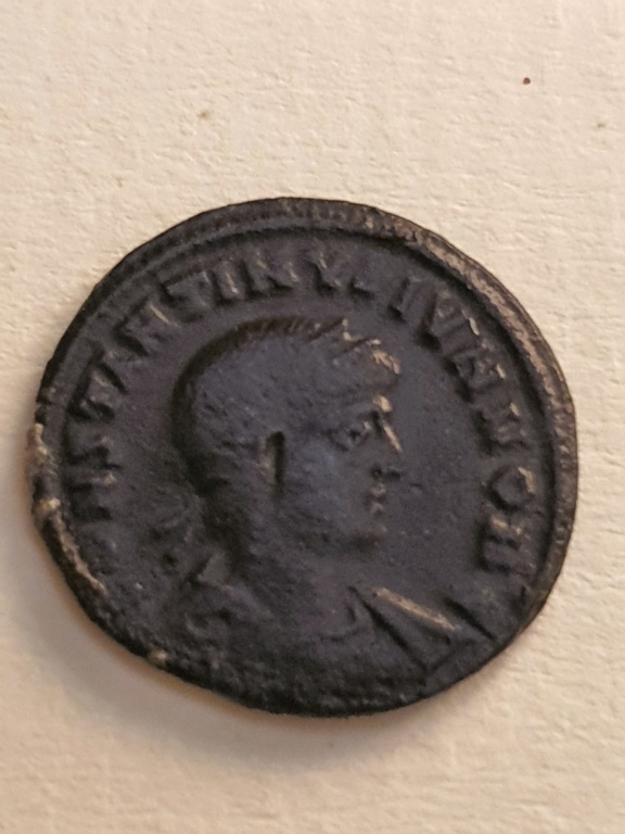 AE3 de Constantino II. GLORIA EXERCITVS 20200743
