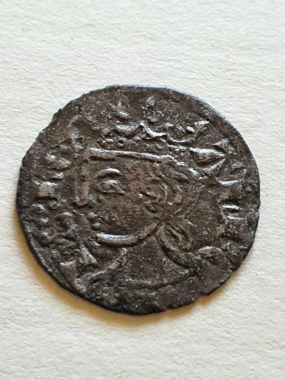 Dinero coronado o cornado de Alfonso XI. 20200810