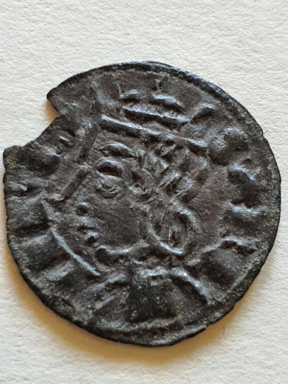 Dinero coronado o cornado de Sancho IV. 20200814