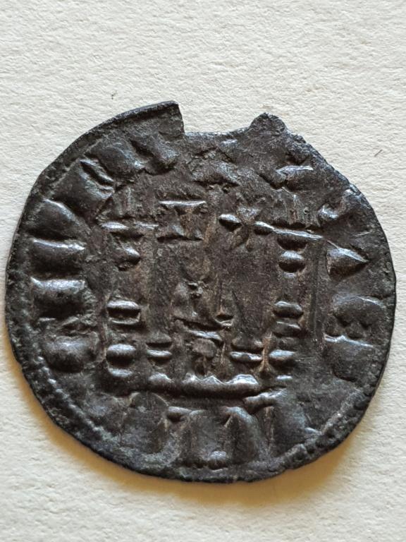 Dinero coronado o cornado de Sancho IV. 20200815