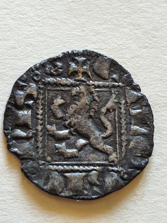 Dinero noven de Alfonso XI. 20200816
