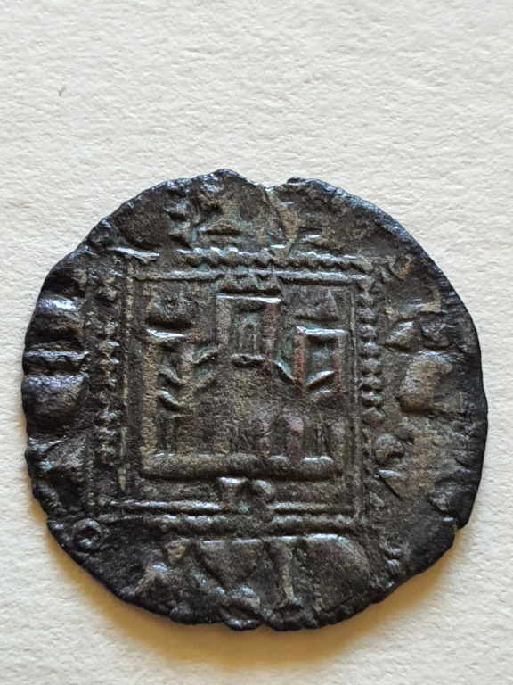 Dinero noven de Alfonso XI. 20200817
