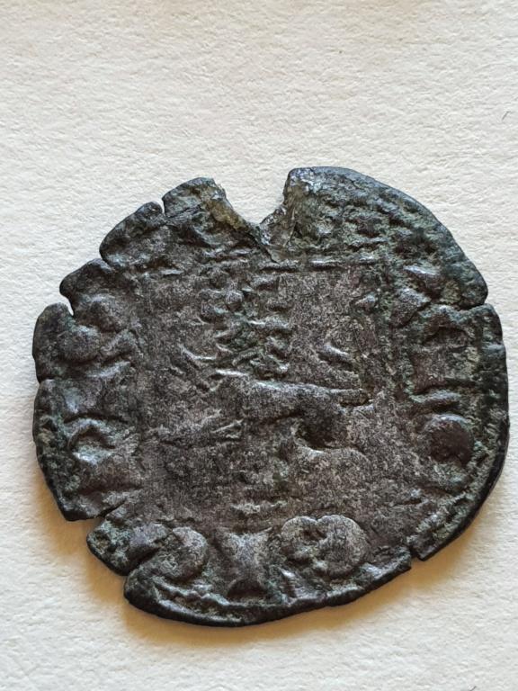 Dinero noven de Alfonso XI. 20200818