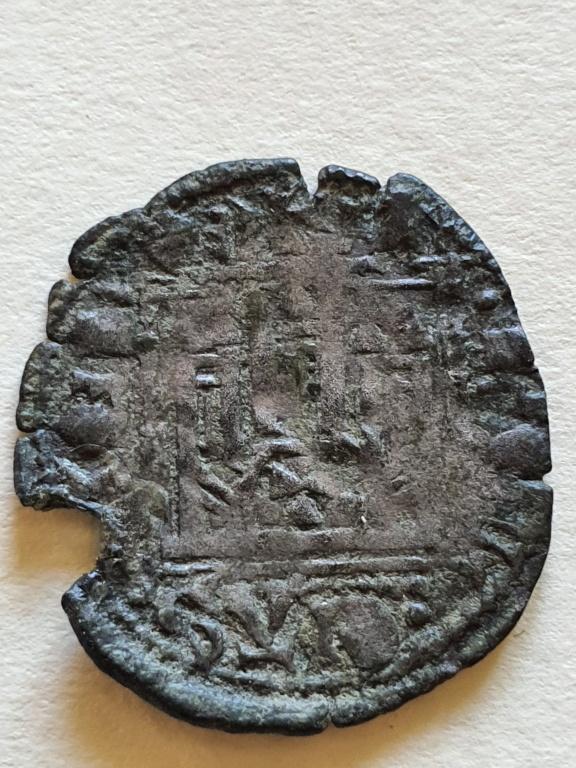 Dinero noven de Alfonso XI. 20200819