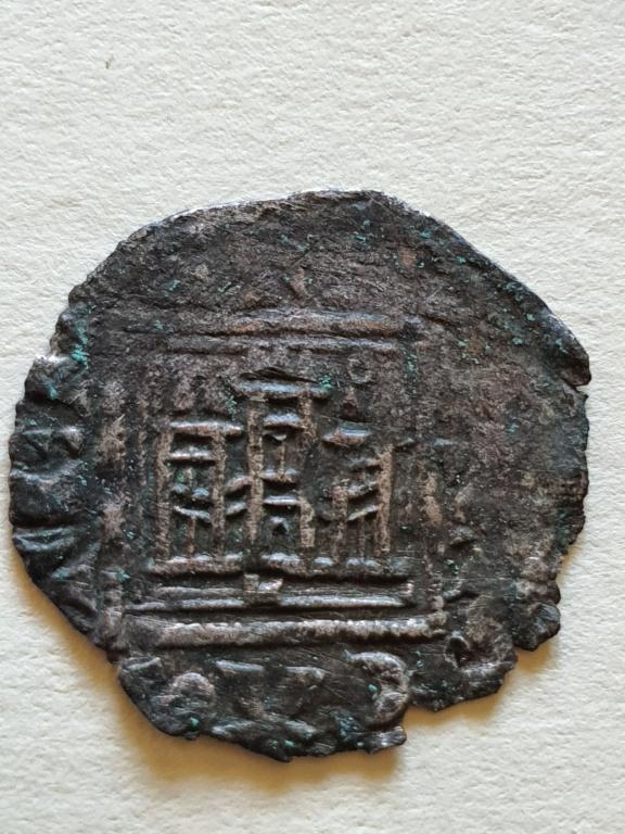 Dinero noven de Alfonso XI. 20200821