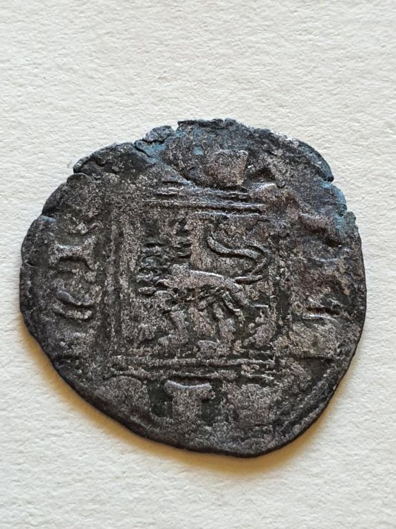Dinero noven de Alfonso XI. 20200822