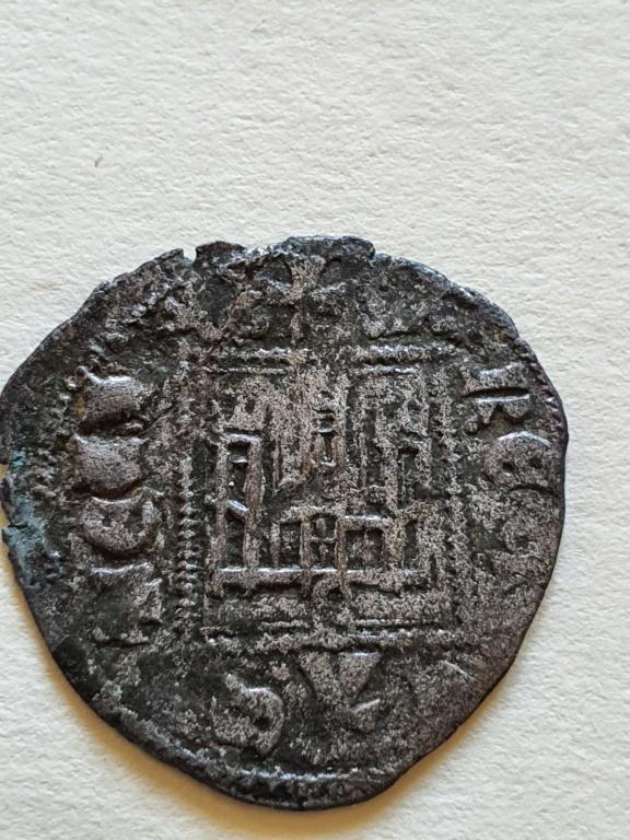 Dinero noven de Alfonso XI. 20200823