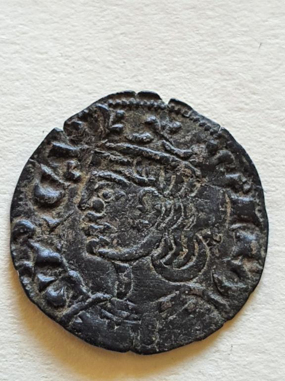 Dinero coronado o cornado de Alfonso XI. 20200826