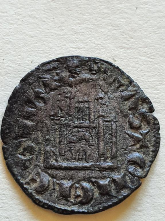 Dinero coronado o cornado de Alfonso XI. 20200827