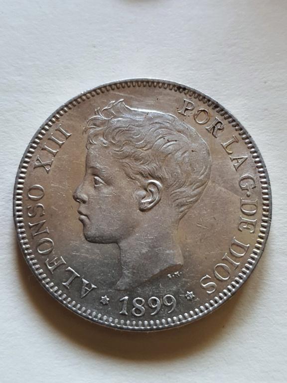 Alfonso XIII 1899 5 pesetas SGV 20200863