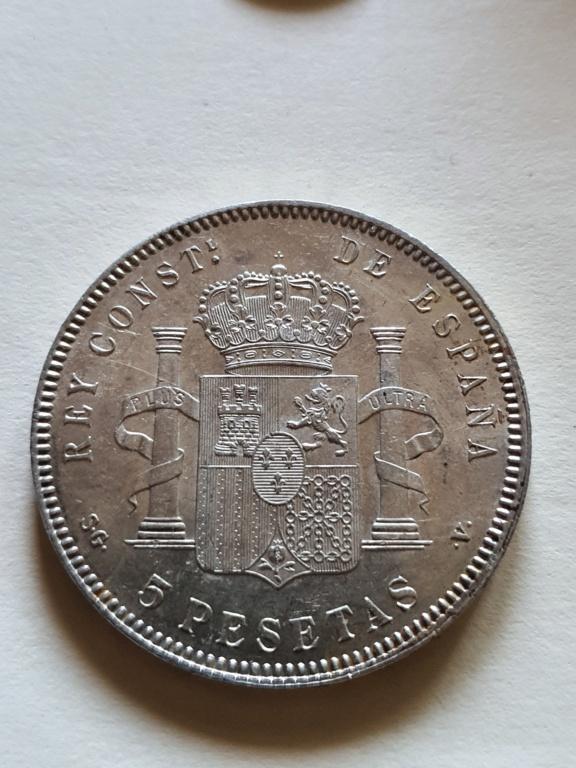 Alfonso XIII 1899 5 pesetas SGV 20200864