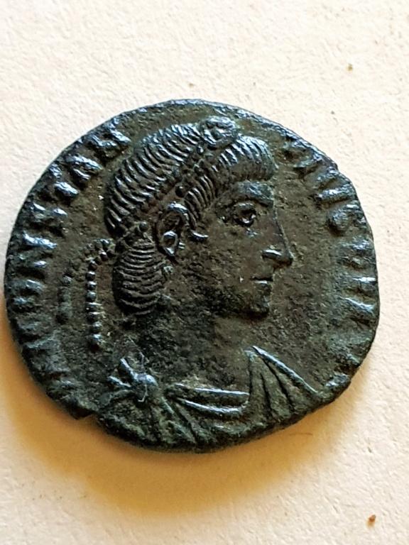 AE3 de Constancio II. FEL TEMP REPARATIO.''matao''. Roma 20200910