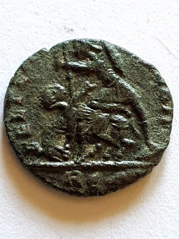 AE3 de Constancio II. FEL TEMP REPARATIO.''matao''. Roma 20200911