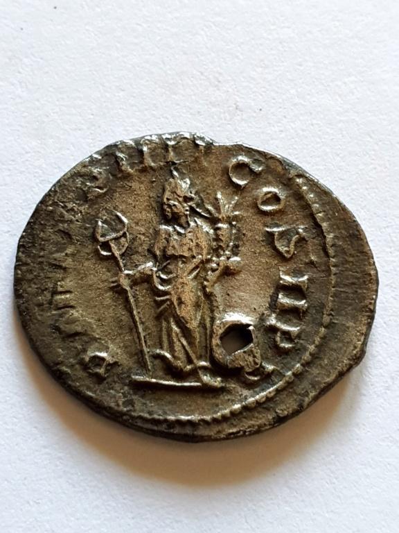 Antoniniano de Filipo I. PM TR P IIII COS II PP. Roma 20200915