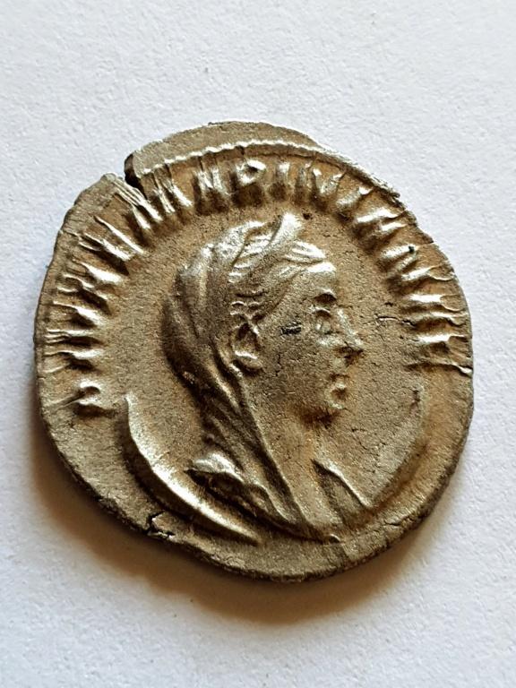 Antoniniano póstumo de Maririana. CONSECRATIO. Roma 20200916