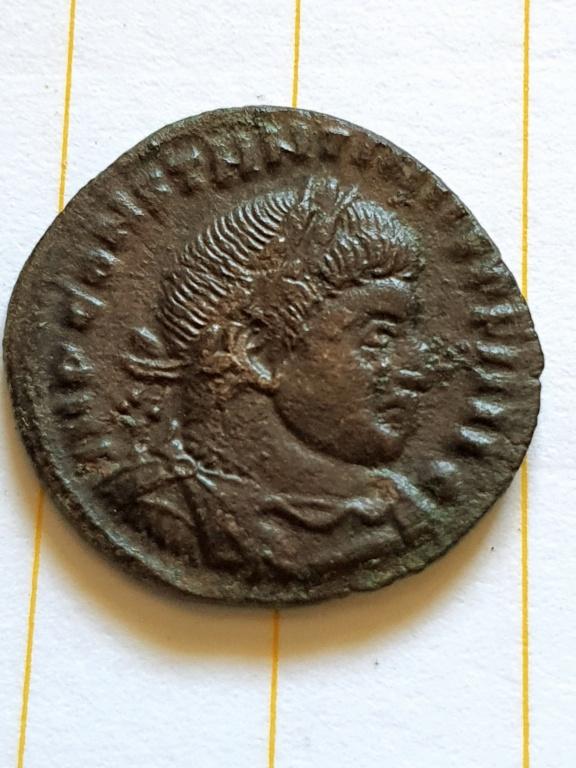 Nummus de Constantino I. SOLI INVICTO COMITI. Roma  20200924