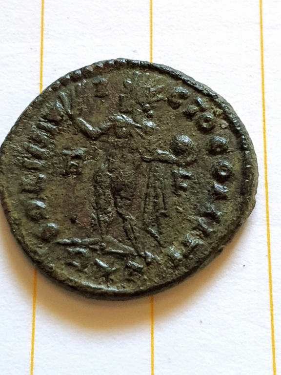 Nummus de Constantino I. SOLI INVICTO COMITI. Roma  20200925