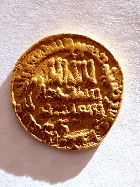 Dinar Aglabí del 254 H, Muhammad II 20201010