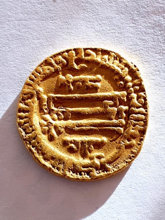 Dinar Aglabí del 254 H, Muhammad II 20201011