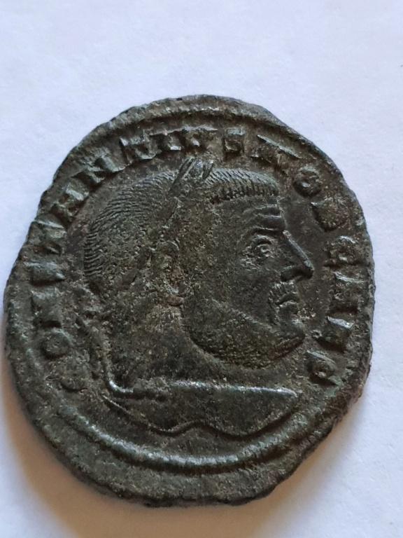 Nummus de Constancio I Cloro. SALVIS AVGG ET CAESS FEL KART. Cartago 20201014