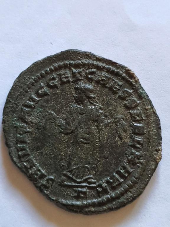 Nummus de Constancio I Cloro. SALVIS AVGG ET CAESS FEL KART. Cartago 20201015