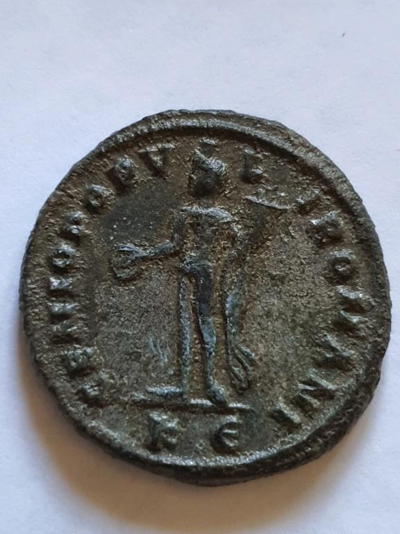Nummus de Diocleciano. GENIO POPVLI ROMANI. Cycico 20201021