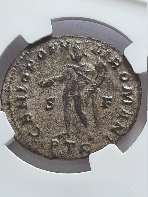 Nummus de Constancio I Cloro. GENIO POPVLI ROMANI. Trier Consta11