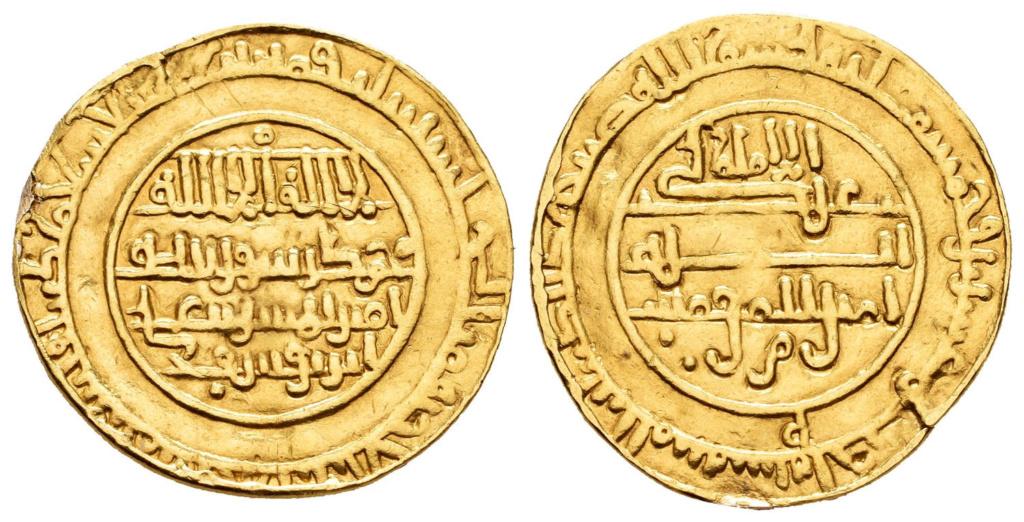 Dinar de Alí ben Yusuf con Tasfin, 537 H, Almería Dinar_10
