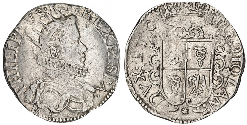 ducaton de Milán de Felipe IV Ducato10