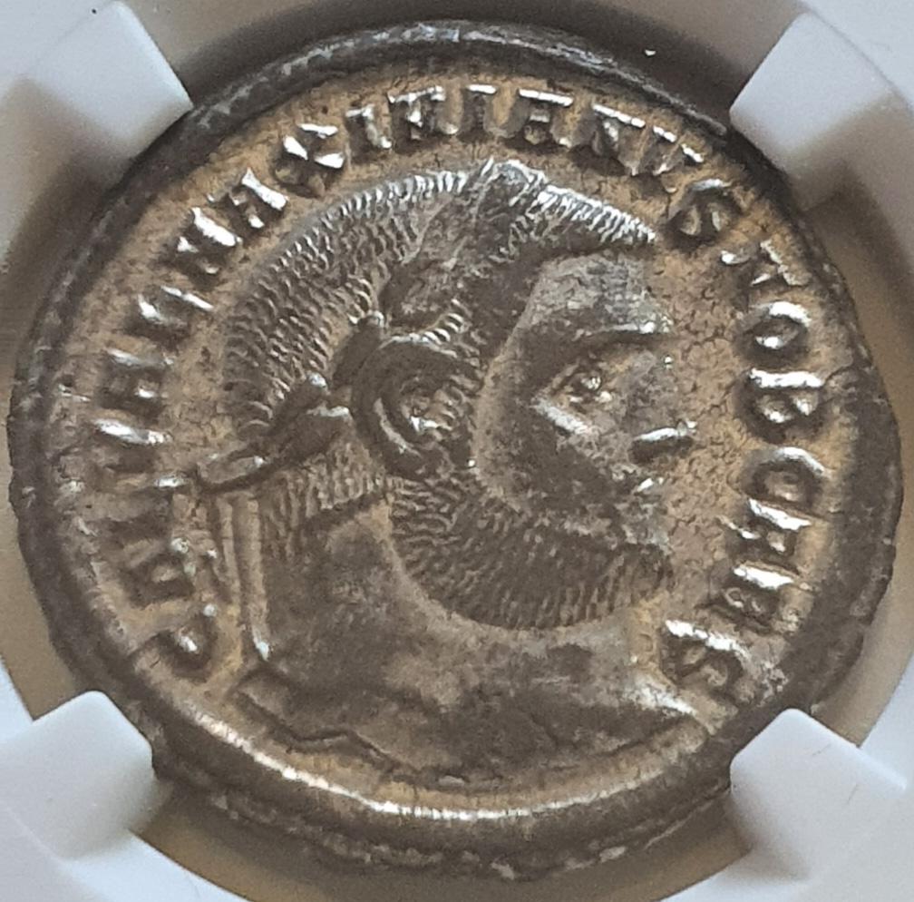 Nummus de Galerio. GENIO POPVLI ROMANI. Heraclea Galeri10