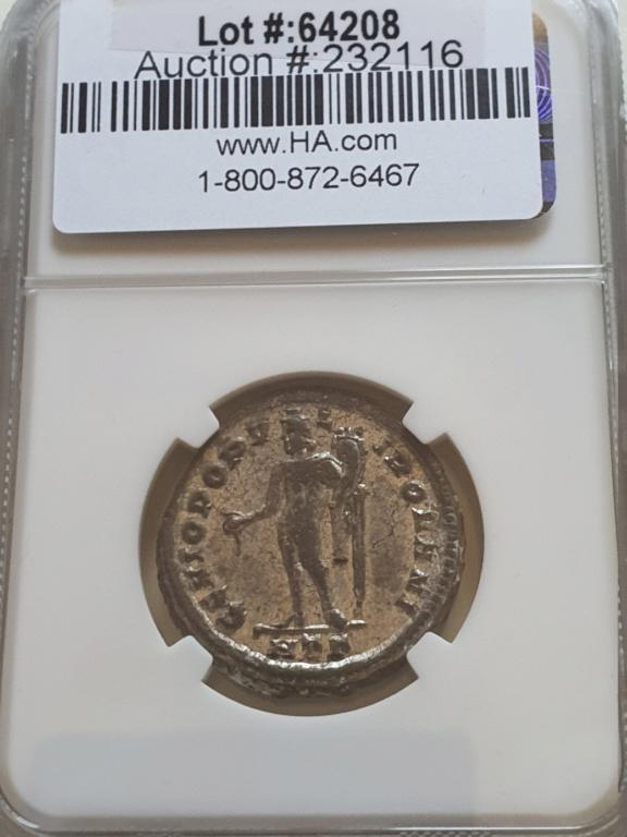 Nummus de Galerio. GENIO POPVLI ROMANI. Heraclea Galeri13