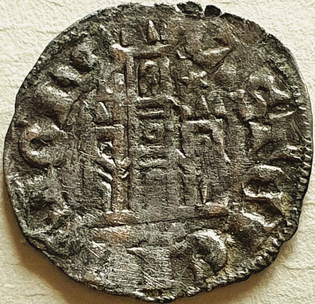 Dinero coronado o cornado de Alfonso XI. M20b_e10
