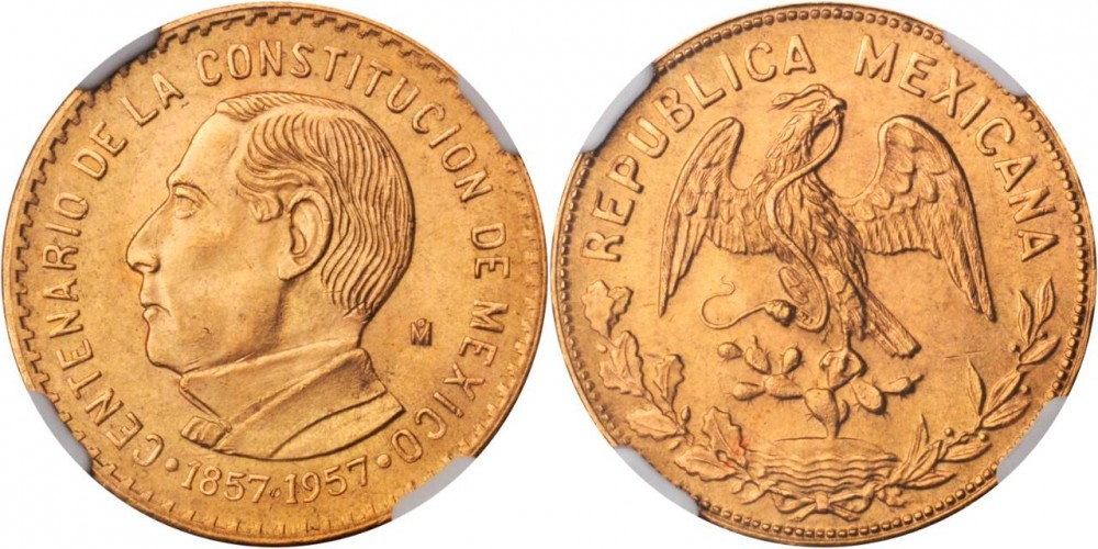 diez pesos  mexicanos de oro ayuda a saber  Mexico10