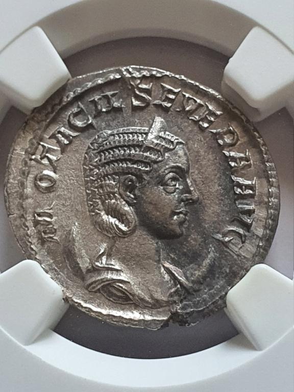 Antoniniano de Otacilia Severa. CONCORDIA AVGG. Roma Otacil10