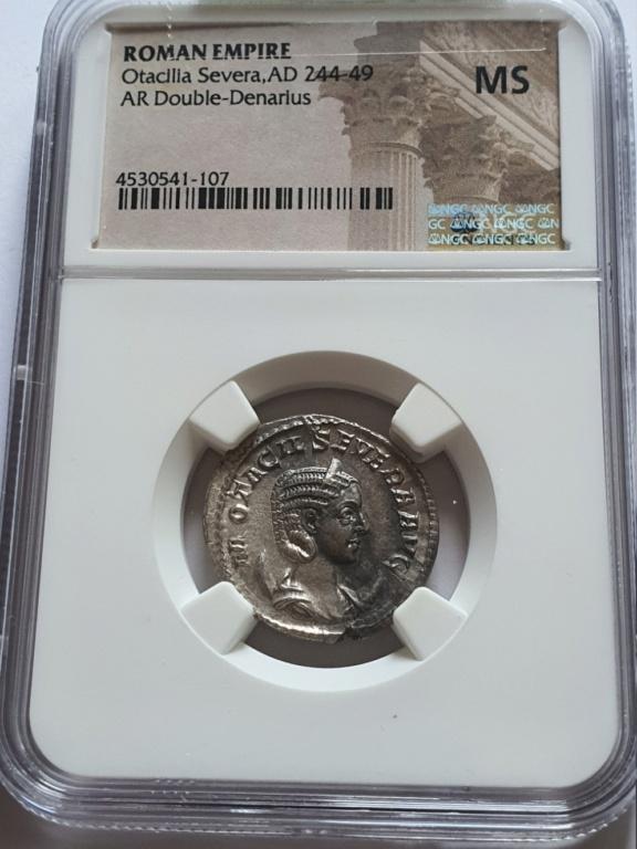 Antoniniano de Otacilia Severa. CONCORDIA AVGG. Roma Otacil12