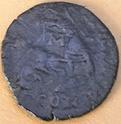 AE3 de Juliano II (el Apóstata). FEL TEMP REPARATIO. Arlés 168_210
