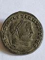 Nummus de Diocleciano. SACRA MONET AVGG ET CAESS NOSTR. Ticino  20200526