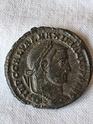 Nummus de Galerio. GENIO IMPERATORIS. Heraclea 20200620