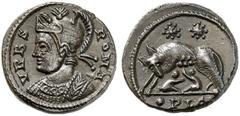 AE3 Conmemorativa de Roma. VRBS ROMA. Lyon Urbs_r10
